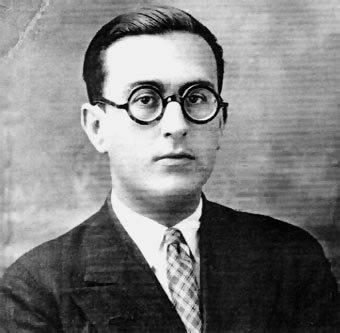 Photo de Jorge Guillén au début des années 1910