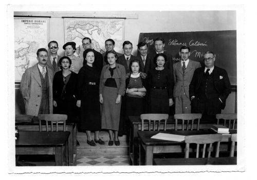 Marcel Bataillon et ses étudiants à Alger vers 1933, nous n'avons pas équivalent à Paris vers 1939