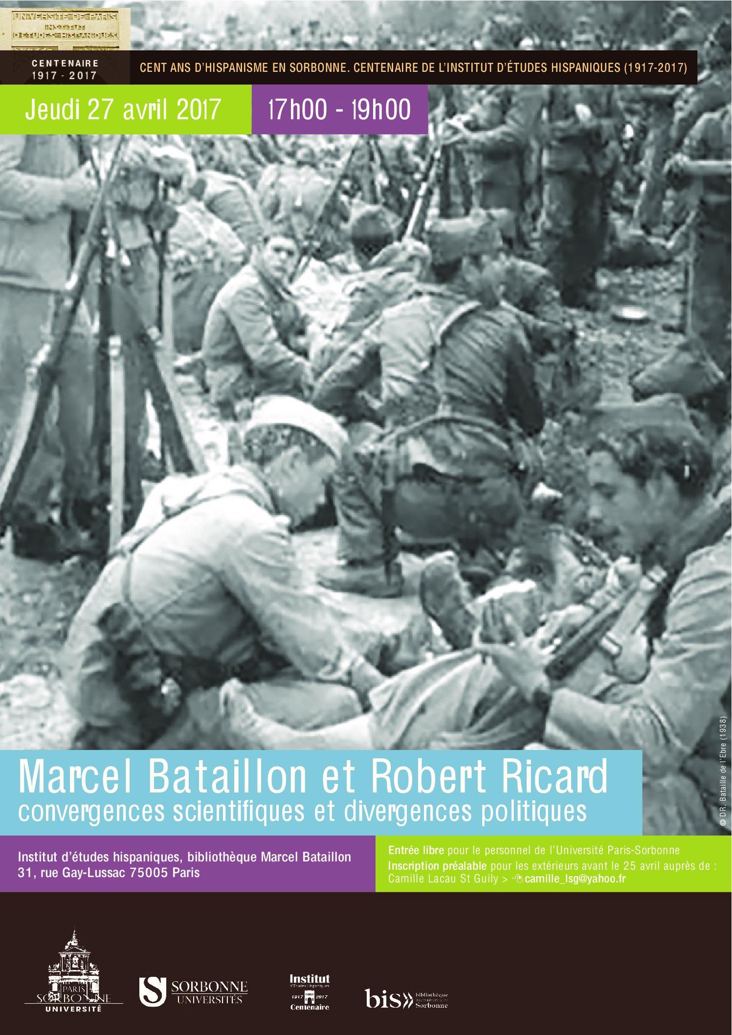 Marcel Bataillon et Robert Ricard: convergences scientifiques et divergences politiques