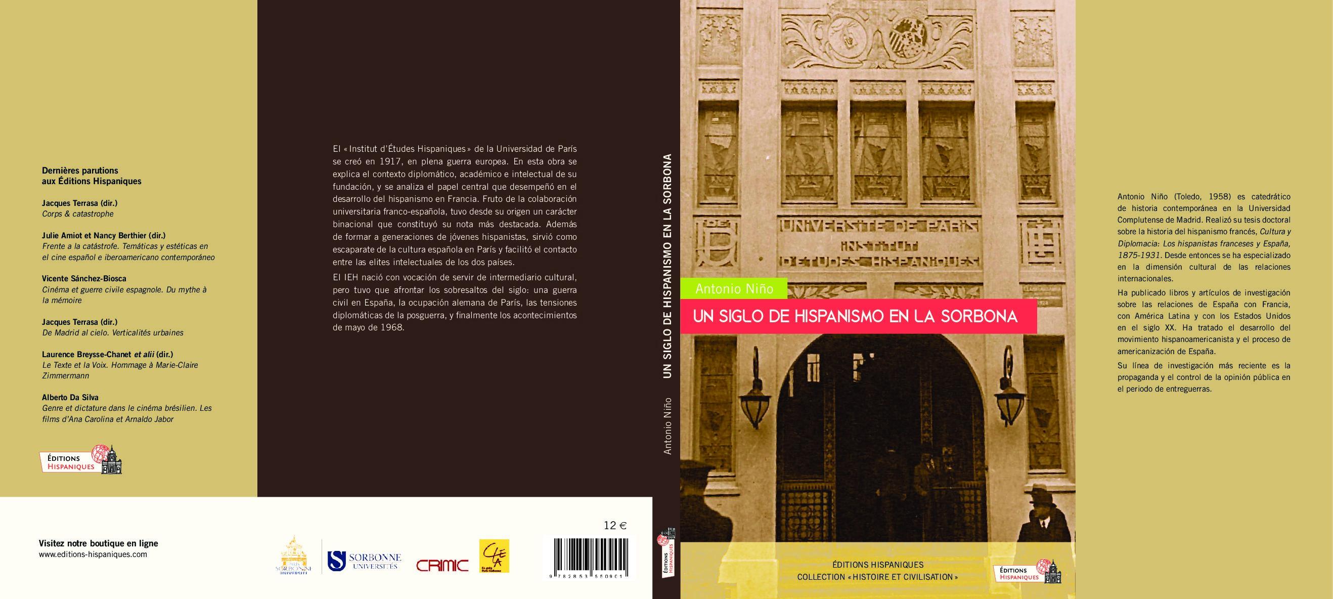Un siglo de hispanismo en la Sorbona